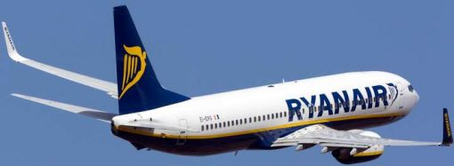 Ryanair временно приостановил полеты из Одессы