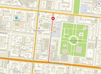 Движение по переулку в центре города перекроют на целый год