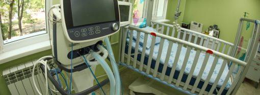 Детская горбольница обзавелась современным отделением интенсивной терапии