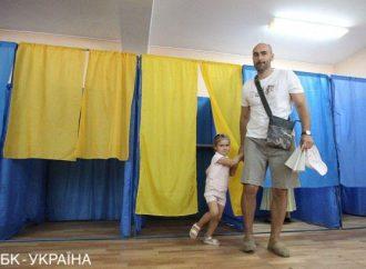 Почти во всех одесских округах лидируют «Слуги народа»