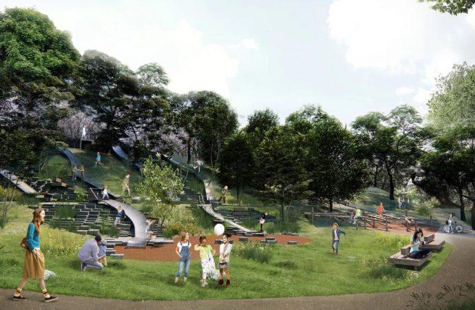 Бульвар Жванецкого планируют украсить «сухим фонтаном» и скульптурами