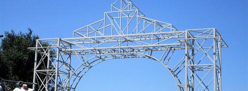 На Привозе появилась новая арка и расширился павильонный «ассортимент»