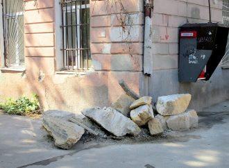 Как в Одессе поживает пострадавший дом на углу Пастера и Конной?