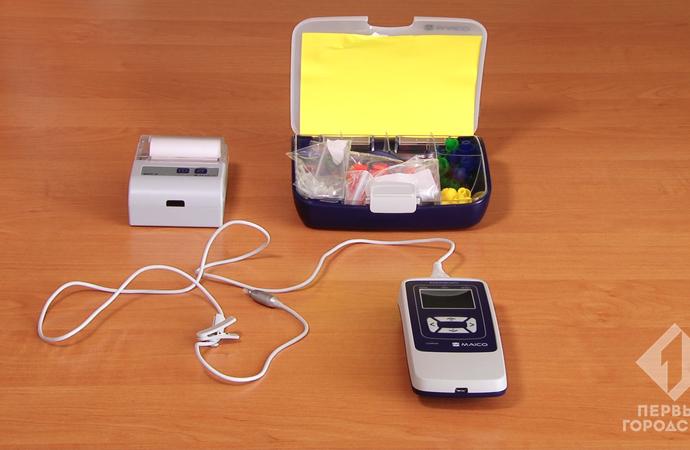 В Одессе появился первый аппарат для проверки слуха у детей