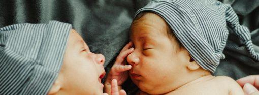 В Одесі минулого тижня народилося п'ять пар близнюків