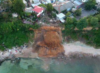 Спасатели раскопали оползень в Черноморке: пострадавших нет (ОБНОВЛЕНО)