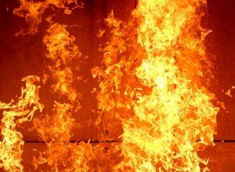 На предприятии под Одессой был пожар: пострадал охранник