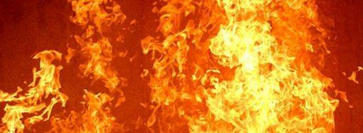 В Одессе сгорел магазин