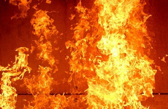 В Одесской области горел винзавод