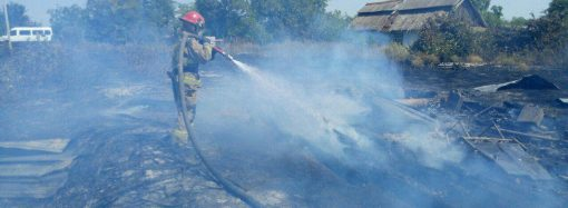 Пожар в поле повлек гибель женщины в Раздельнянском районе