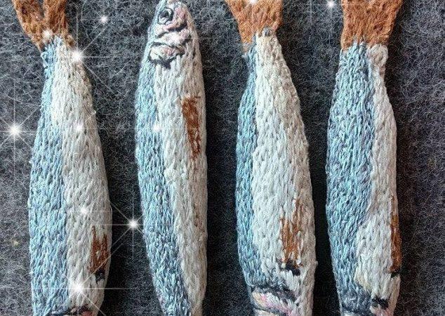 Дизайнер из Одессы мастерит тюльку из ниток