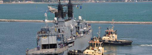 Учения «Си-Бриз»: в Одесском порту пришвартовались 5 военных кораблей НАТО