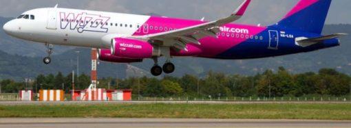 Авіакомпанія Wizz Air запустить 6 нових рейсів з аеропорту Одеса