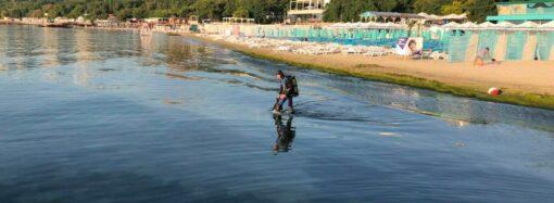 Пішов купатися і не повернувся: на пляжі «Отрада» рятувальники витягнули потопельника