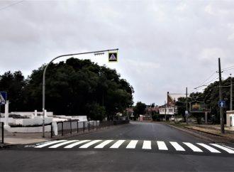 На одесском Большом Фонтане появились разметка и новые дорожные знаки