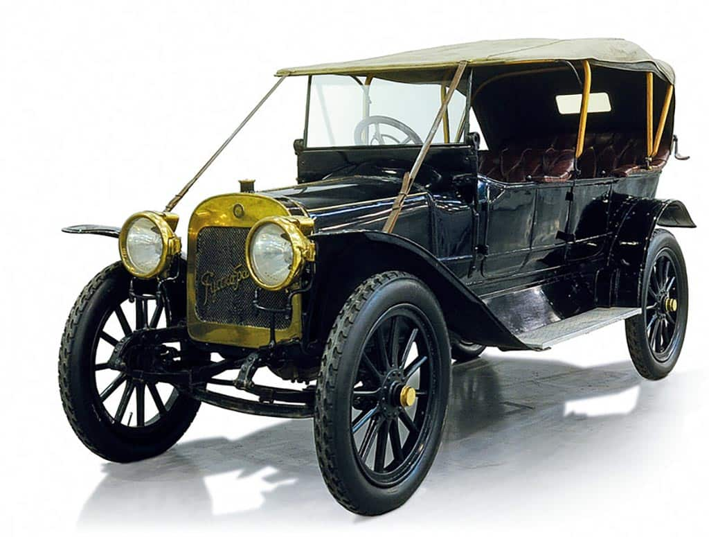 Автомобили фирмы Руссо-балт