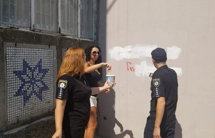 Как полиция в Белгороде-Днестровском с рекламой наркотиков боролась