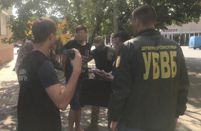 В Измаиле за распространение наркотиков задержан пограничник