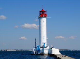 Одесский Воронцовский маяк обзавелся новой системой для опознания судов