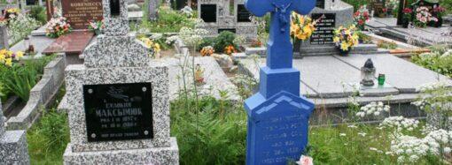 В Килии кладбищенский грабитель наворовал мешок надгробных табличек