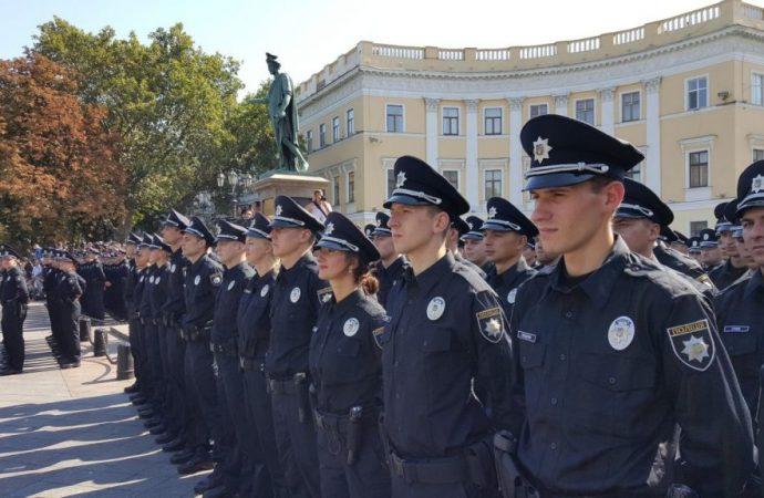 Разбор полетов в патрульной полиции Одессы