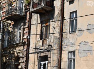 Стихия в Одессе оставила памятник архитектуры без балкона
