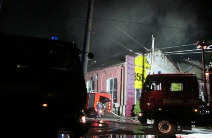 После пожара в одесском отеле наградят сотрудников «Горэлектротранса»