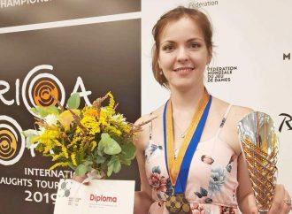 Одесситка стала призером Чемпионата мира по шашкам