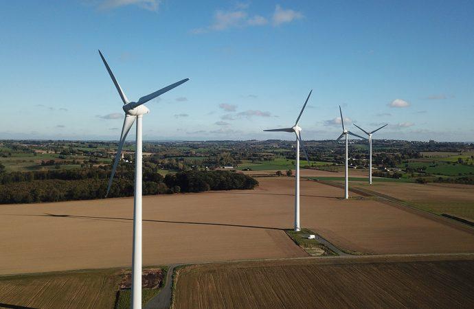Украина вошла в пятерку стран Европы с наибольшим количеством ветряных электростанций