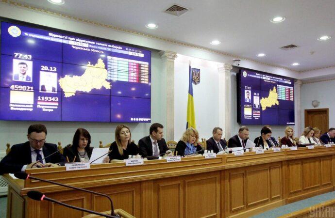 Верховна Рада звільнила весь склад Центральної виборчої комісії