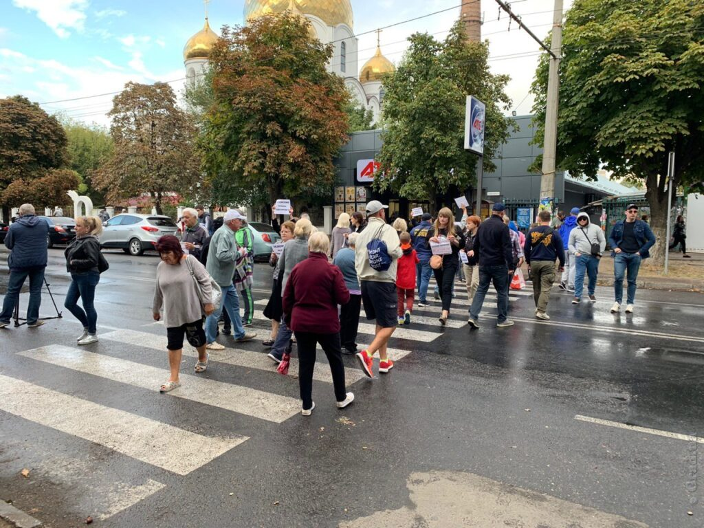 Это уже не первая акция протеста жителей Таирова