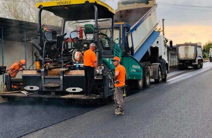 На Одещині вперше використали нову технологію будівництва доріг