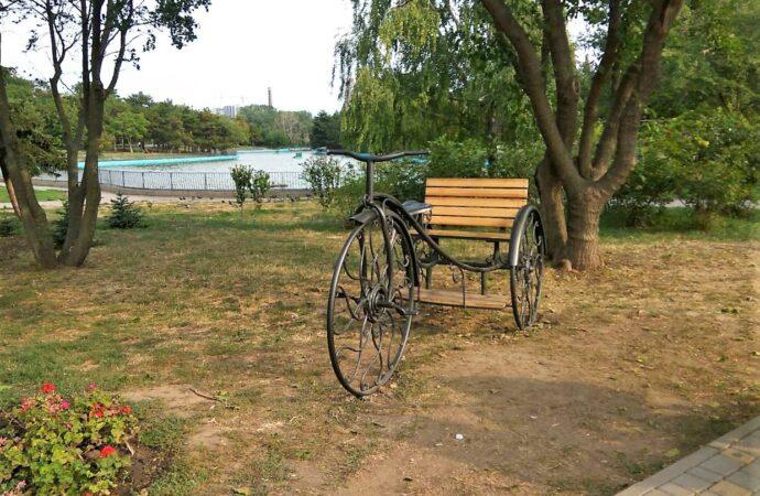 В одесском парке появилось новое место для оригинальных фотосессий