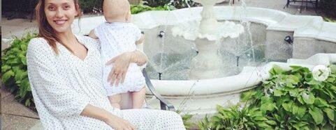 Регина Тодоренко отметила День города в Одессе и показала сына (фото)
