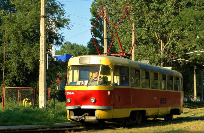 """На одесском Фонтане горел """"13""""-й трамвай (видео)"""