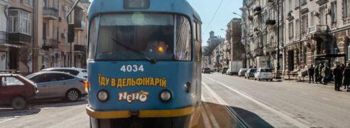 23 сентября в Одессе вернется на маршрут популярный в городе трамвай