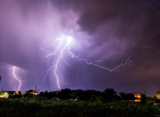Штормове попередження: в Одесі очікуються дощ та гроза