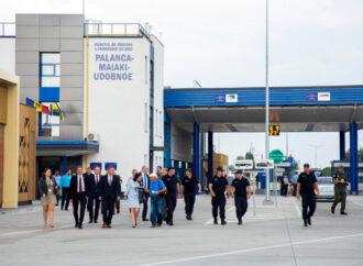 На Одещині на пункті пропуску «Паланка-Маяки-Удобне» відкрили контактний пункт