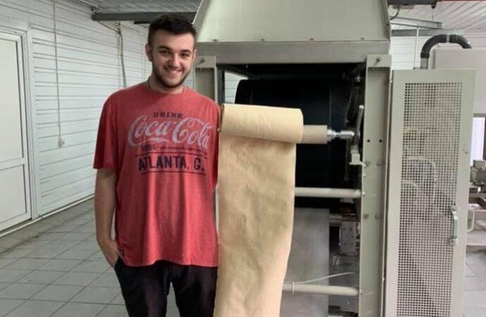 Український студент розпочне виробництво паперу з опалого листя
