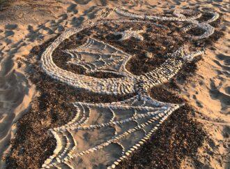 В курортном поселке близ Одессы поселилась пара огнедышащих драконов