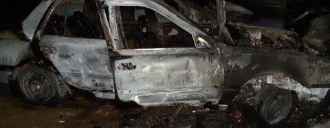 В Ізмаїлі вночі на станції технічного обслуговування згоріли три автомобілі