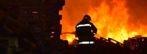 В частном доме под Одессой заживо сгорел мужчина