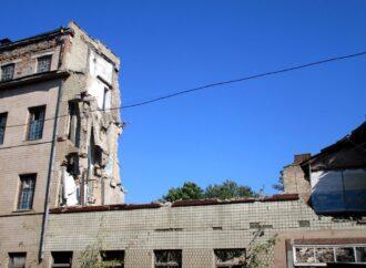 Демонтаж старой одесской мега-бани: Торговая и Княжеская преобразились