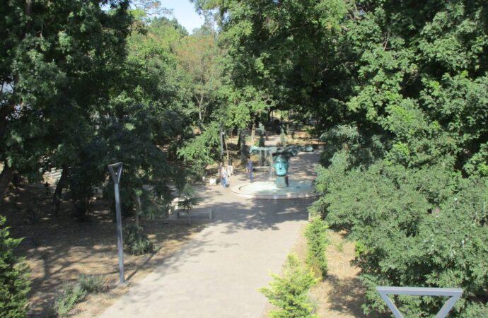 Как сейчас выглядит Греческий парк и какие работы там еще проводятся
