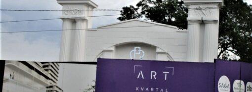 Арка одесского судоремонтного завода: и реставрация, и восстановленные барельефы