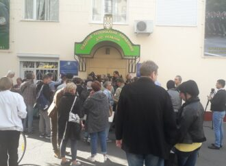 Защитим Тузловские лиманы: в Одессе протестовали против браконьеров и бездействия пограничников