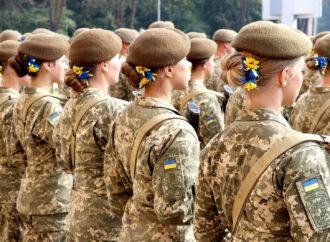 В Україні за 10 років кількість жінок-військовослужбовиць збільшилась у 15 разів