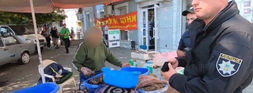 """Вилучили червонокнижну рибу та 150 кг мідій: результати рейду на """"Привозі"""""""