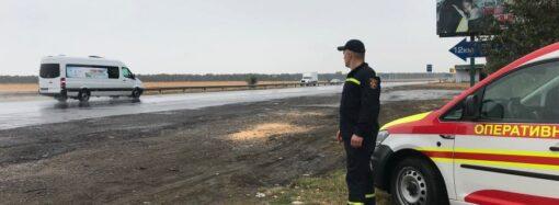 На трассе Одесса-Киев усилили меры безопасности на маршруте паломничества хасидов