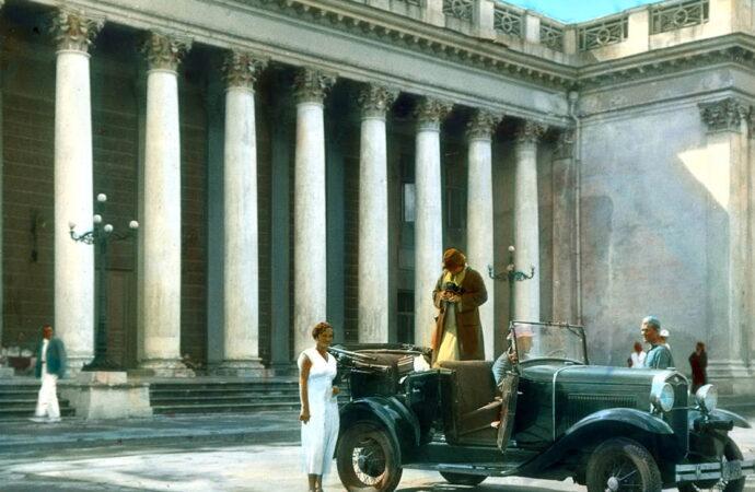 Архитектурные тайны Одессы: здание биржи 180 лет назад украшали медведь и лев
